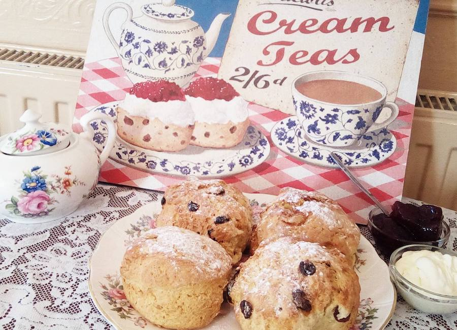 Enjoy a delicious Devon cream tea in Torquay