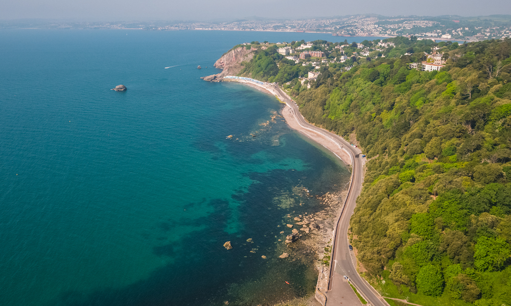 Walking the South West Coast Path in Torquay, Devon
