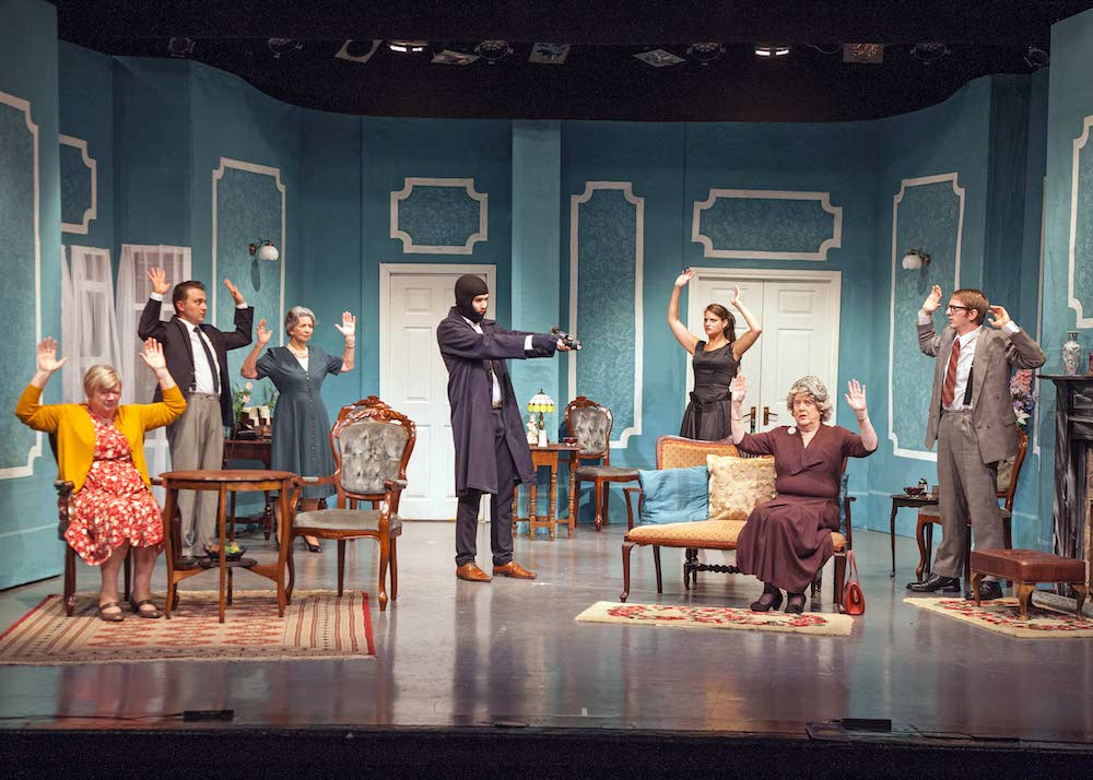Agatha Christie, A Murder is Announced at the Palace Theatre in Paignton, Devon