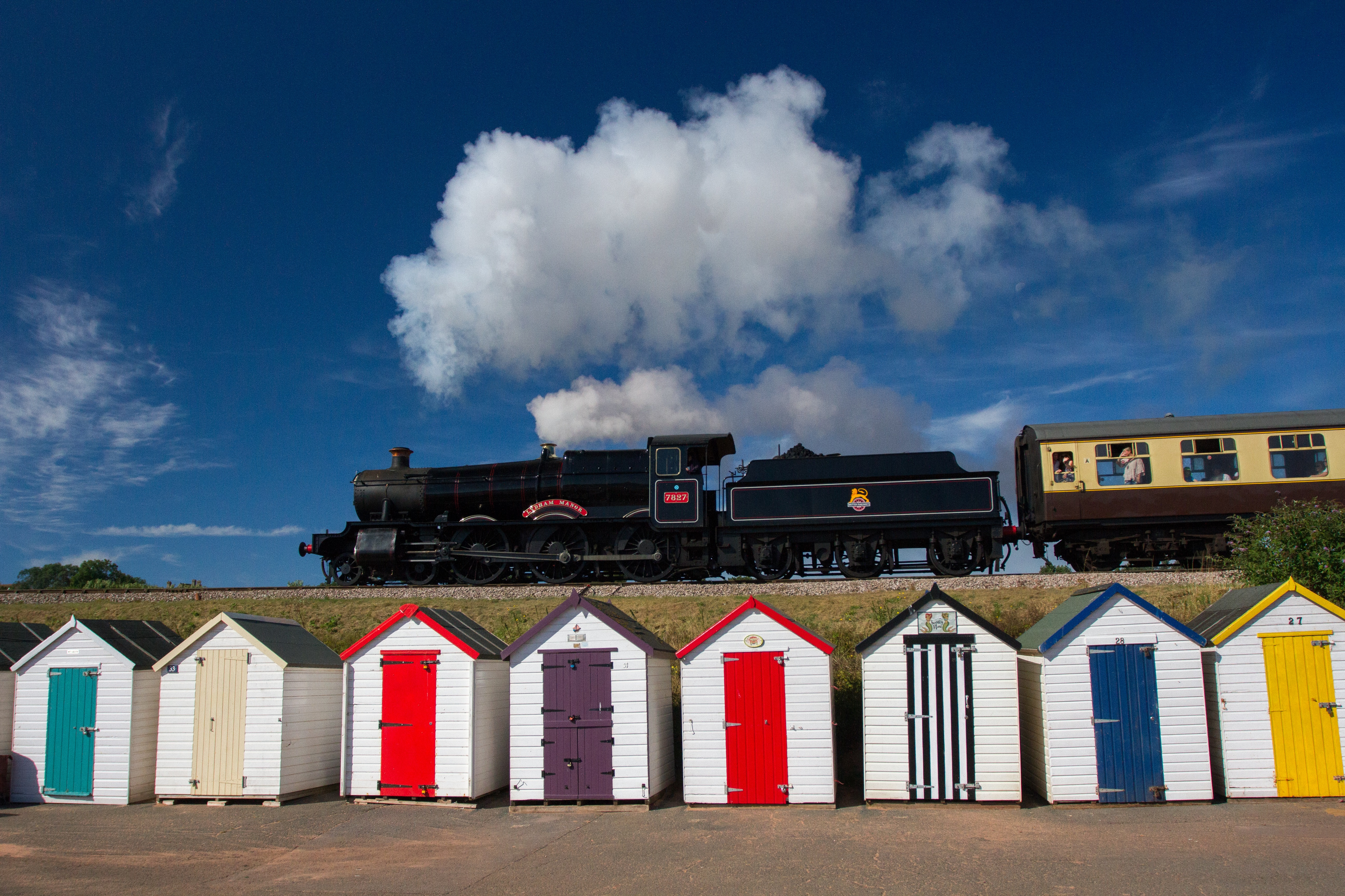 Dartmouth Steam Railway (starting in Paignton) - English Riviera