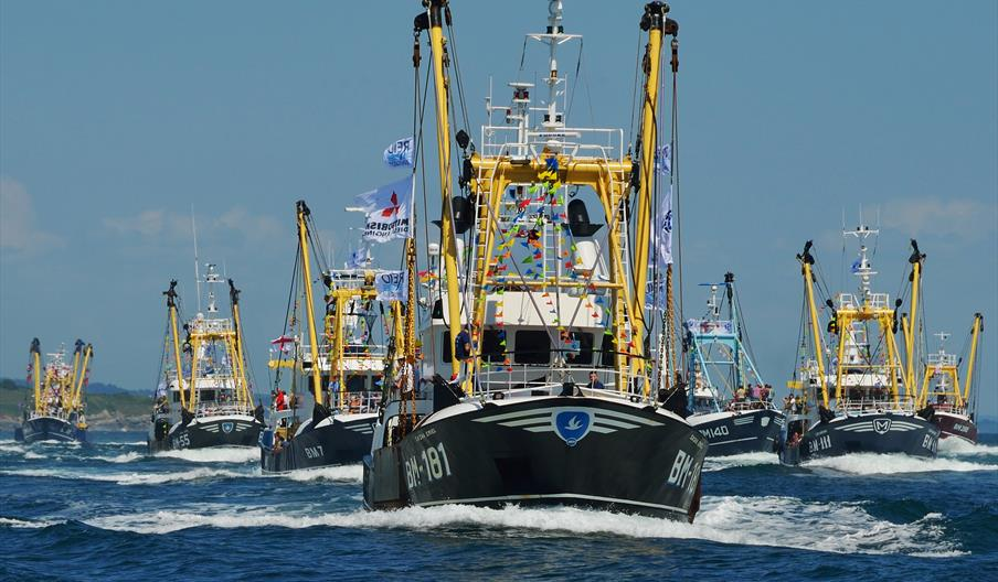Brixham Trawler Race - English Riviera
