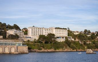 Exterior view of the Imperial Hotel, Torquay, Devon