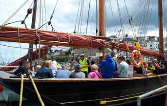 Pilgrim (BM47) Open Day, Brixham, Devon