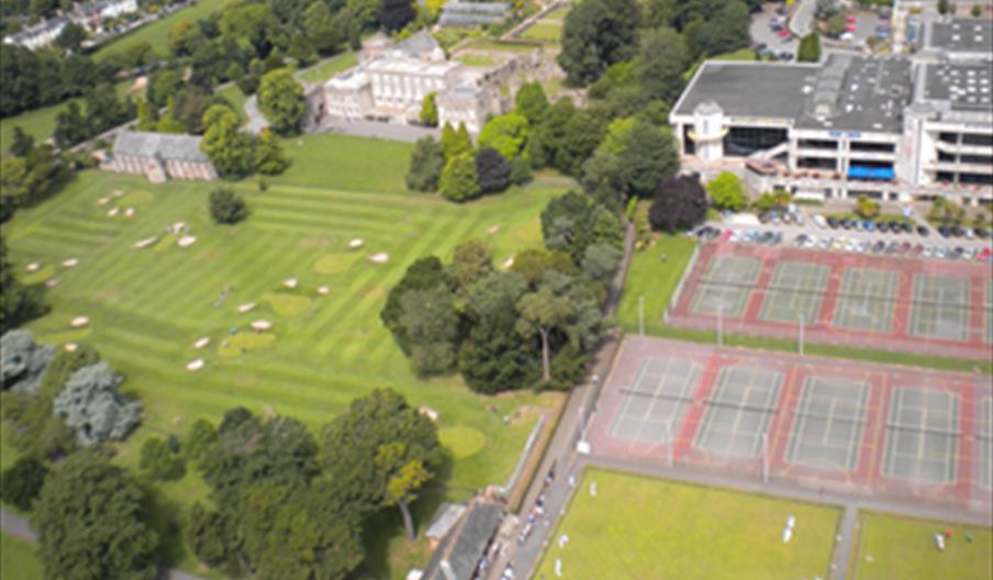 Torre Abbey Leisure Park, Pitch n Putt, Golf, Tennis, Bowls