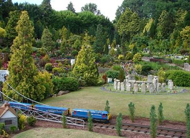 Babbacombe Model Village village green