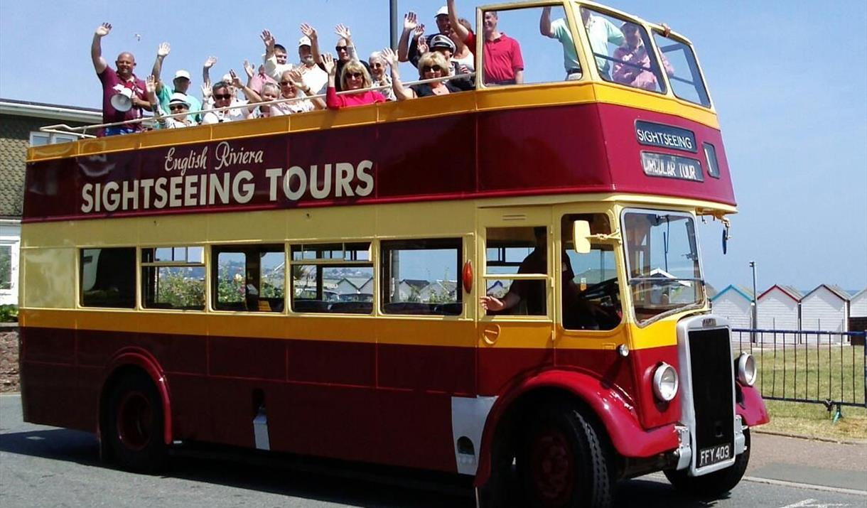 Image result for open top bus