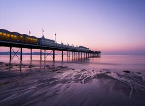 Sunset at Paignton Pier
