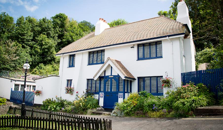 Beach Cottage self catering accommodation at The Cary Arms in Torquay, Devon