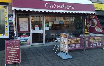 Chandlers Coffee Shop Paignton