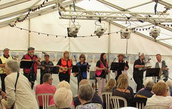 The John Ayres Ukulele Proms - Babbacombe Cliff Railway, Torquay, Devon