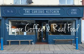 The Curious Kitchen, Middle Street, Brixham, Devon