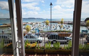 Stunning view from Harbourside Holiday Apartments Paignton, Devon