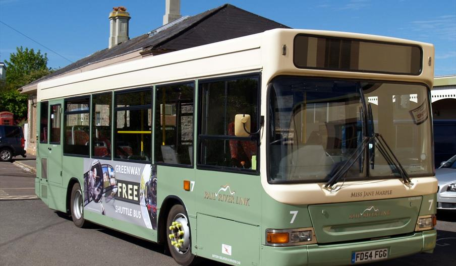 Greenway Shuttle Bus from Churston Station
