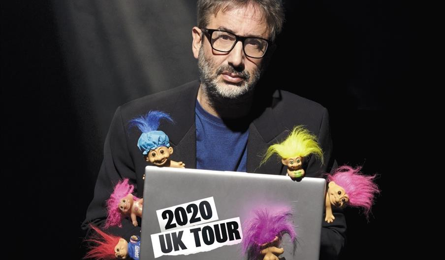 David Baddiel Trolls: Not the Dolls, Babbacombe Theatre, Torquay, Devon