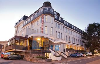 View of the TLH Derwent Hotel, Torquay, Devon