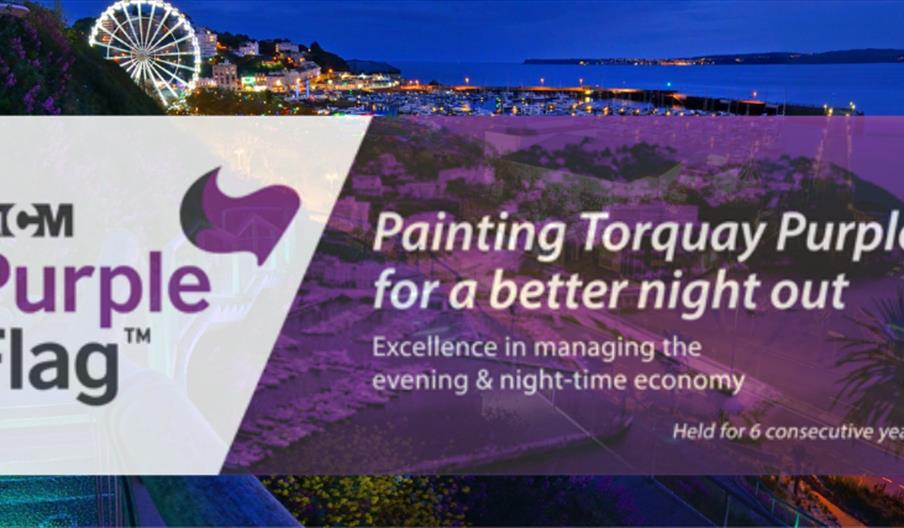 Purple Flag Award Torquay