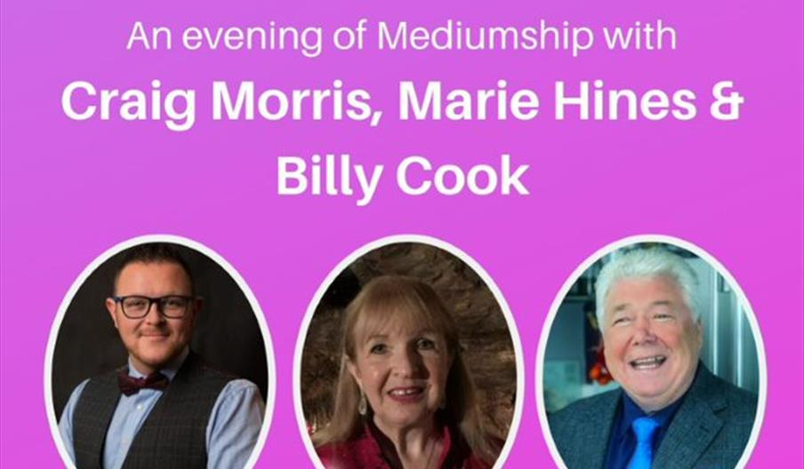 An Evening of Mediumship, Brixham Theatre, Brixham, Devon