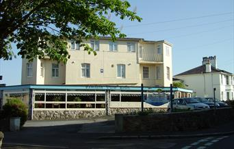 The Exmouth View Hotel in Babbacombe, Torquay.