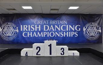 Great Britain Irish Dancing Championships, Riviera Centre, Torquay, Devon