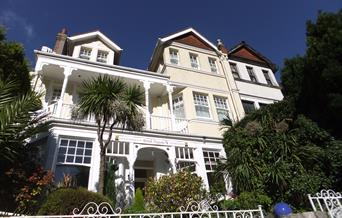 Front of Hotel Peppers, Torquay, Devon