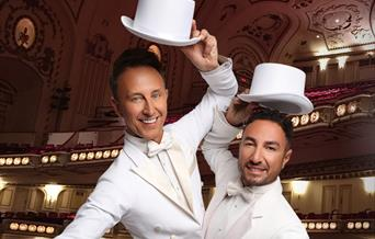 Ian Waite and Vincent Simone: Act 2, Palace Theatre, Paignton, Devon