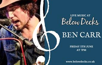 Ben Carr Live at Below Decks, Torquay, Devon