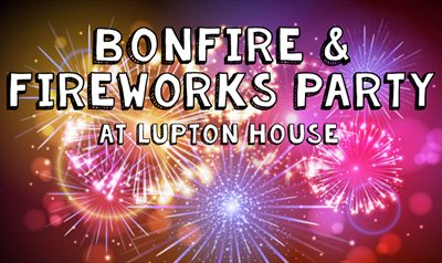 Lupton House Bonfire and Fireworks Party 2018, Brixham, Devon