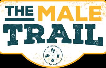 The Male Trail, Rowcroft Hospice, Torquay, Devon
