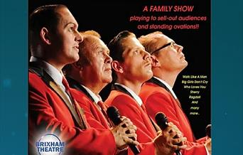 The New Jersey Boys, Brixham Theatre, Brixham Devon