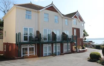 Outside view at Braeside, Paignton, Devon