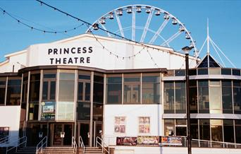 Entrance of the Princess Theatre, Torquay Devon