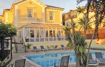 Fancy a dip at Riviera Lodge, Torquay, Devon