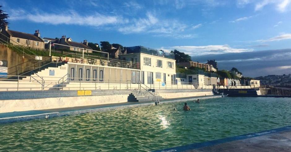 Shoalstone Outdoor Pool Brixham Visit English Riviera