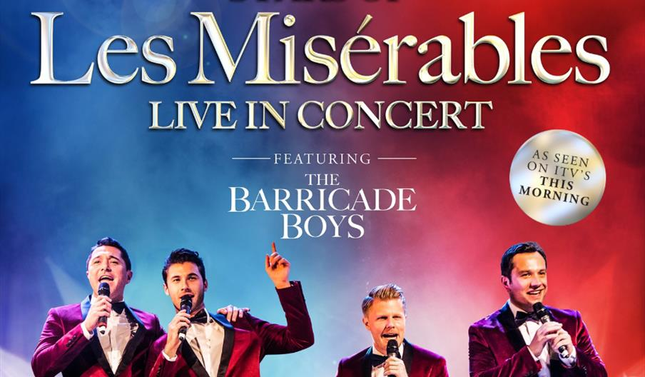 Stars of Les Miserables Live In Concert – Featuring The Barricade Boys