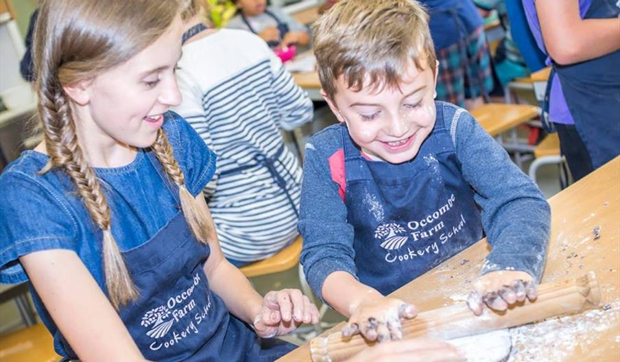 Torbay Coast and Countryside Trust - Kids Summer Cookery School Paignton, Devon