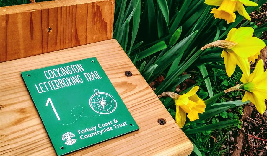 Torbay Coast and Countryside Trust - Cockington letterboxing trail: Spring Secrets, Cockington, Torquay, Devon