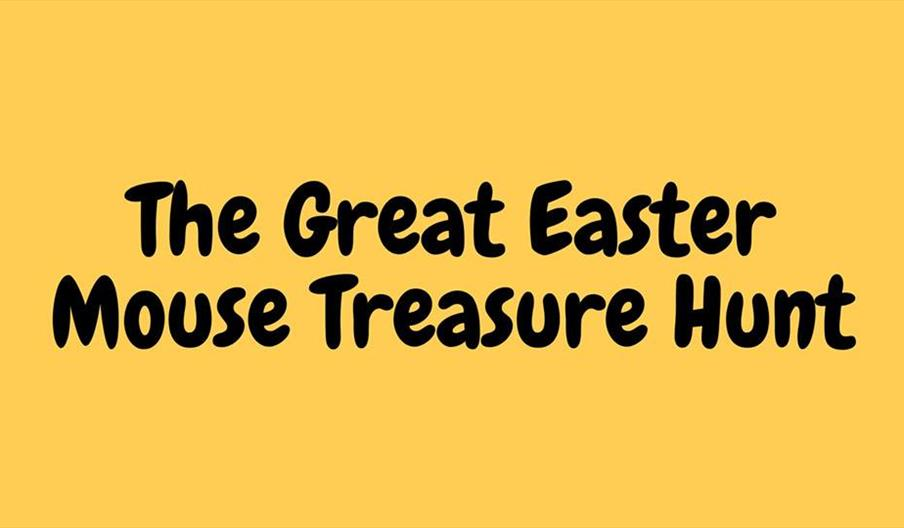 The Great Easter Mouse Treasure Hunt - Torre Abbey