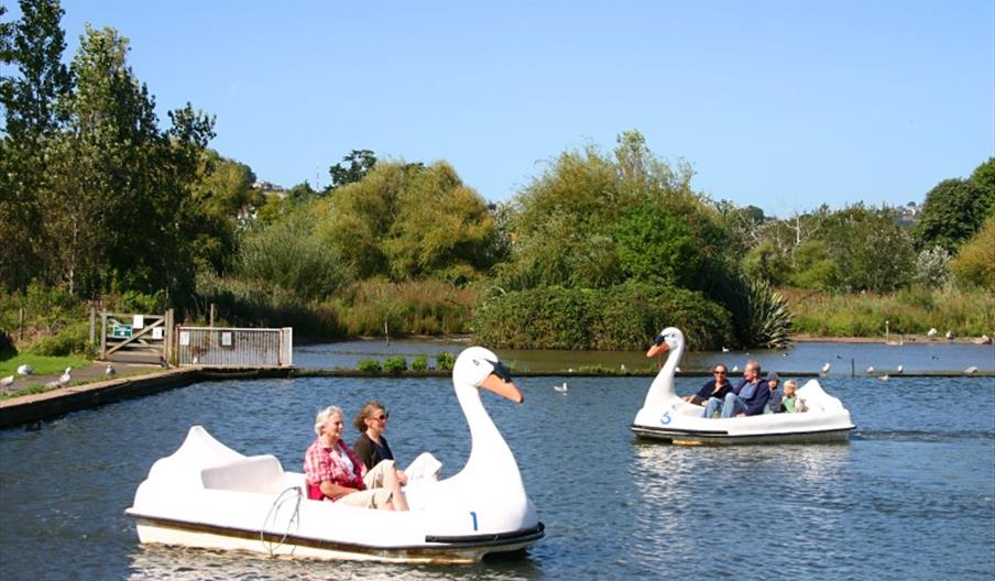 Goodrington Boating Lakes