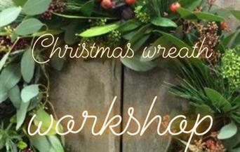 Wreath Making Workshop, Cantina, Paignton. Devon
