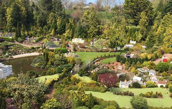 Gardens at Babbacombe Model Village