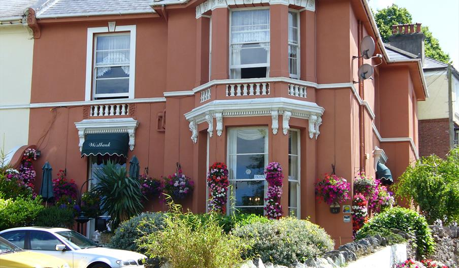 Front of The Westbank, Torquay, Devon
