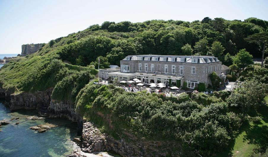 Berry Head Hotel, Brixham, Devon - at the waters edge.