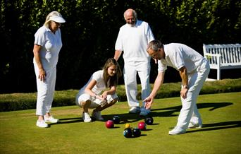English Riviera Open Bowls Tournament, Torquay, Devon